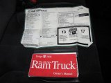 2002 Dodge Ram 1500 SLT Regular Cab 4x4 Window Sticker