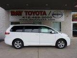 2011 Super White Toyota Sienna LE #47005274