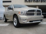 2011 White Gold Dodge Ram 1500 Big Horn Quad Cab 4x4 #47005805