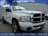 2004 Bright White Dodge Ram 1500 SLT Quad Cab #47006083