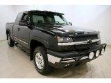 2004 Black Chevrolet Silverado 1500 Z71 Extended Cab 4x4 #47005836