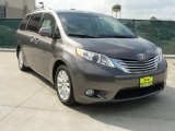 2011 Predawn Gray Mica Toyota Sienna Limited #47057574