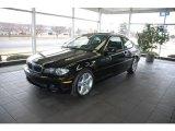 2006 Jet Black BMW 3 Series 325i Coupe #4689296