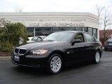 2007 Jet Black BMW 3 Series 328xi Sedan #4685439