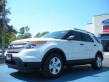 2011 White Suede Ford Explorer FWD #47057438