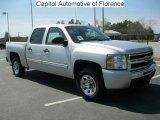2011 Sheer Silver Metallic Chevrolet Silverado 1500 LS Crew Cab #47058023