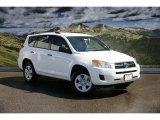 2011 Super White Toyota RAV4 I4 4WD #47057286