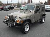 2006 Light Khaki Metallic Jeep Wrangler Sport 4x4 #47058046