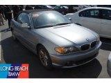 2004 Titanium Silver Metallic BMW 3 Series 325i Convertible #47057623