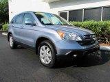 2008 Glacier Blue Metallic Honda CR-V EX-L 4WD #47057331