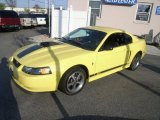 2003 Zinc Yellow Ford Mustang Mach 1 Coupe #47057842