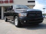 2003 Black Dodge Ram 1500 Laramie Quad Cab #47057890
