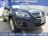 2011 Night Blue Metallic Volkswagen Tiguan SEL #47058206