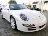 2007 Carrara White Porsche 911 Carrera S Coupe #4686266