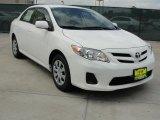 2011 Super White Toyota Corolla LE #47057568