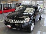 2007 Super Black Nissan Murano S AWD #47057954
