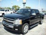2011 Black Chevrolet Silverado 1500 LT Crew Cab #47112750