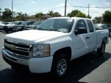2011 Summit White Chevrolet Silverado 1500 LS Extended Cab #47112752