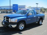 2006 Atlantic Blue Pearl Dodge Ram 1500 ST Regular Cab #47113068