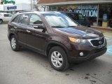 2011 Dark Cherry Kia Sorento LX AWD #47112908
