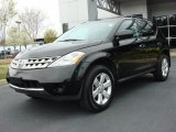 2007 Super Black Nissan Murano S #47112763