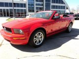 2005 Torch Red Ford Mustang V6 Premium Convertible #47113082