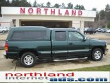 2002 Forest Green Metallic Chevrolet Silverado 1500 LS Extended Cab #47112816