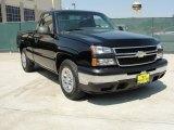 2007 Black Chevrolet Silverado 1500 Classic Work Truck Regular Cab #47112938