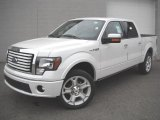 2011 White Platinum Metallic Tri-Coat Ford F150 Limited SuperCrew 4x4 #47112677