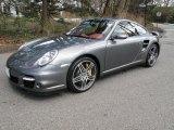 2007 Meteor Grey Metallic Porsche 911 Turbo Coupe #47112707