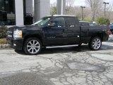 2010 Black Chevrolet Silverado 1500 LTZ Extended Cab 4x4 #47113024