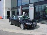2008 Brilliant Black Audi A4 2.0T quattro Cabriolet #47112857