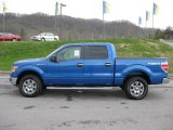 2011 Blue Flame Metallic Ford F150 XLT SuperCrew 4x4 #47112717