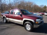 2002 Chevrolet Silverado 1500 Dark Carmine Red Metallic
