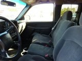 2002 Chevrolet Silverado 1500 Extended Cab 4x4 Graphite Gray Interior