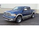 2011 Deep Water Blue Pearl Dodge Ram 1500 Laramie Crew Cab 4x4 #47113440