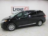 2011 Black Toyota Sienna XLE #47156815