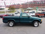 1996 Chevrolet S10 Emerald Green Metallic