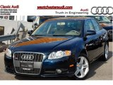 2008 Deep Sea Blue Pearl Effect Audi A4 2.0T quattro S-Line Sedan #47157646