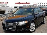 2008 Brilliant Black Audi A4 2.0T Special Edition quattro Sedan #47157647