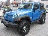 2010 Jeep Wrangler Surf Blue Pearl