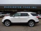 2011 White Platinum Tri-Coat Ford Explorer Limited 4WD #47157522