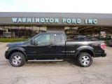 2010 Tuxedo Black Ford F150 FX4 SuperCab 4x4 #47157531