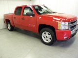 2011 Victory Red Chevrolet Silverado 1500 LT Crew Cab 4x4 #47157716