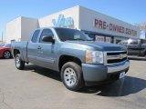 2008 Blue Granite Metallic Chevrolet Silverado 1500 LT Extended Cab #47157721