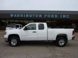 2007 Summit White GMC Sierra 2500HD SLE Extended Cab 4x4 #47157561