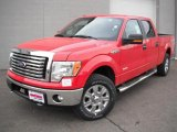2011 Race Red Ford F150 XLT SuperCrew 4x4 #47157180