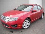 2011 Red Candy Metallic Ford Fusion SE #47157181