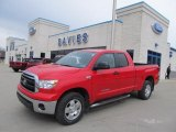 2010 Radiant Red Toyota Tundra TRD Double Cab 4x4 #47157404