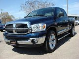2007 Patriot Blue Pearl Dodge Ram 1500 ST Quad Cab 4x4 #47190199